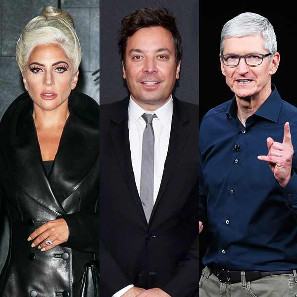Lady Gaga, Jimmy Fallon, Tim Cook