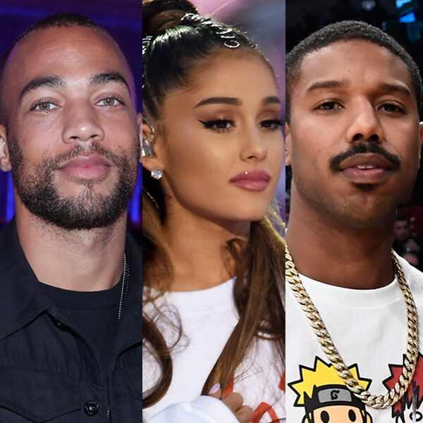 Ariana Grande, Michael B. Jordan, Kendrick Sampson