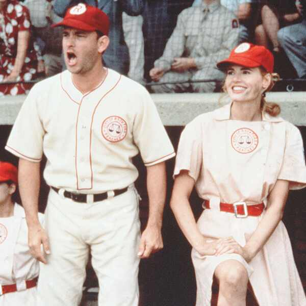 Tom Hanks, Geena Davis, A League Of Their Own