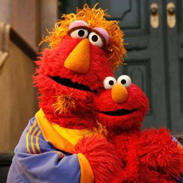 Elmo, Louie, Sesame Street