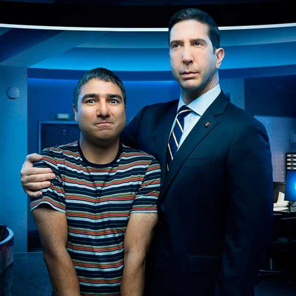 Intelligence, David Schwimmer, Nick Mohammed