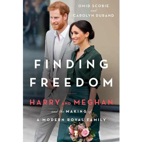 Meghan Markle, Prince Harry, Finding Freedom, Book Cover