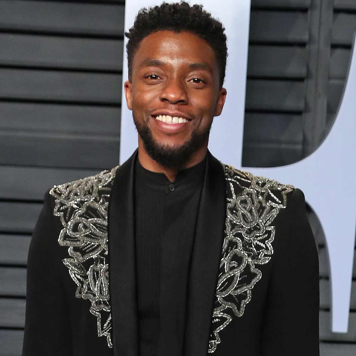 Chadwick Boseman, Vanity Fair Oscar Party 2018