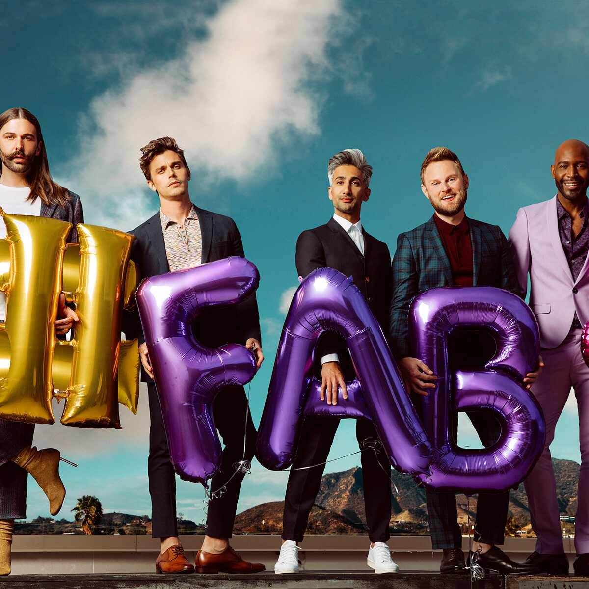 Queer Eye, Jonathan Van Ness, Karamo Brown, Bobby Berk, Antoni Porowski, Tan France