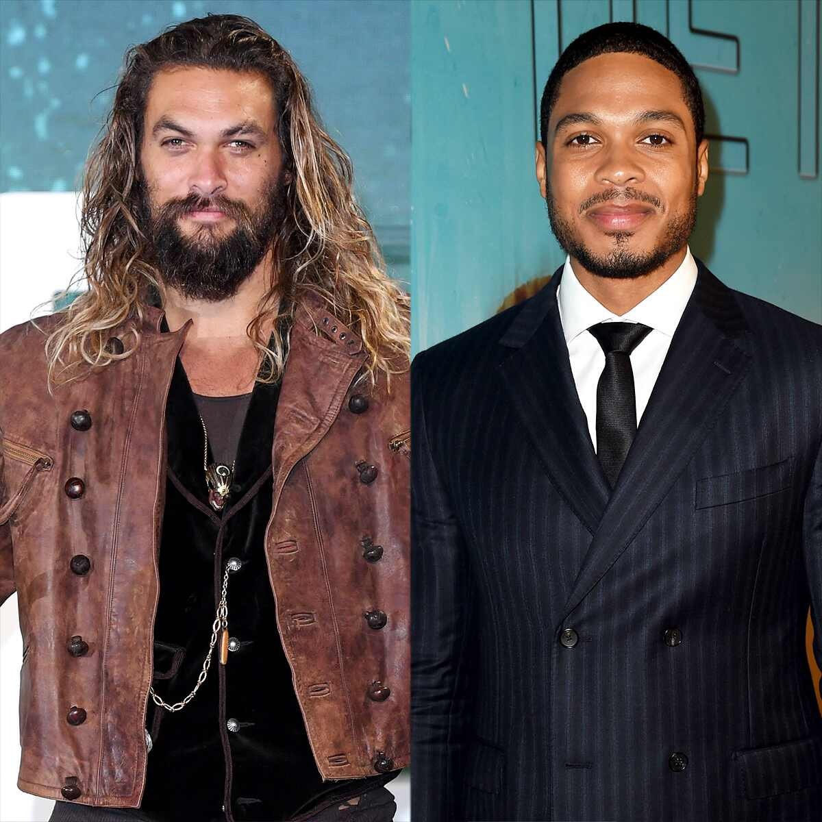 Jason Momoa, Ray Fisher, Justice League