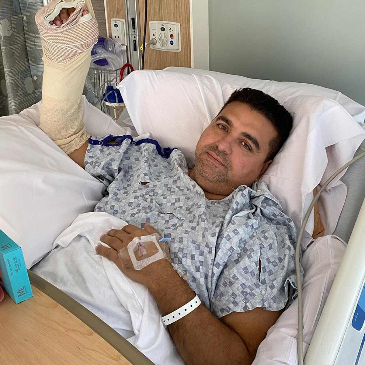 Buddy Valastro, hand injury