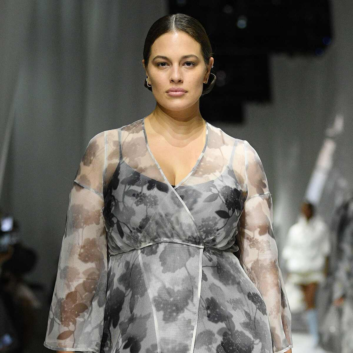 Ashley Graham, Milan Fashion Week Spring, Summer 2021