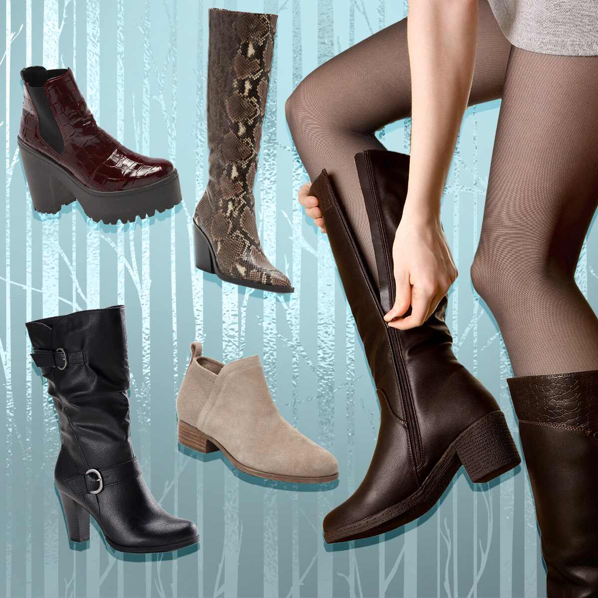 E-comm: Best Boots and Booties Under $100