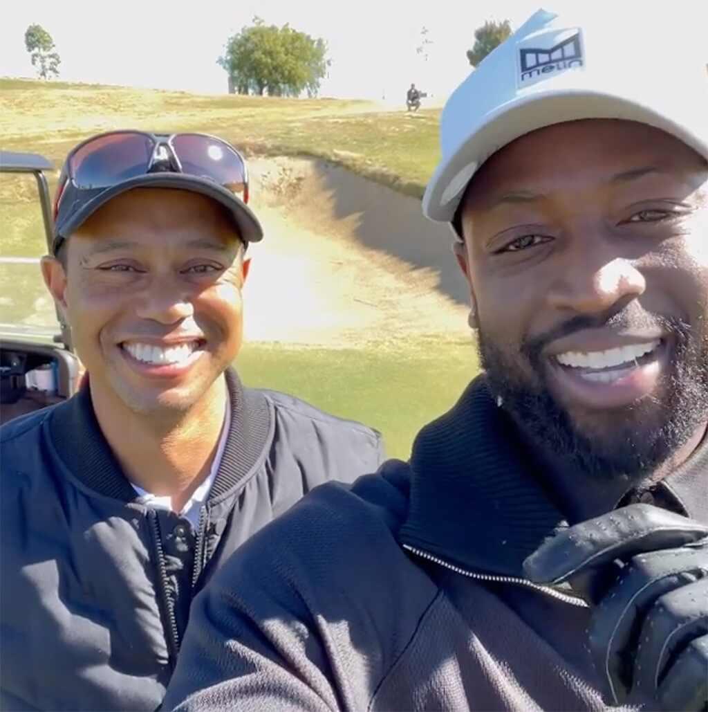 Tiger Woods, Dwyane Wade