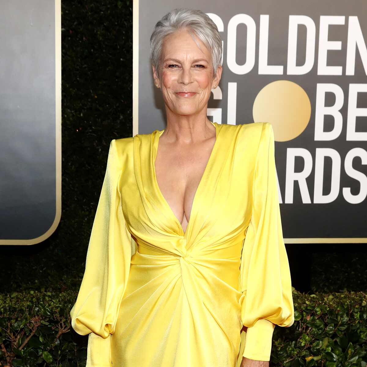 Jamie Lee Curtis, 2021 Golden Globe Awards, Arrivals, Red Carpet Fashion