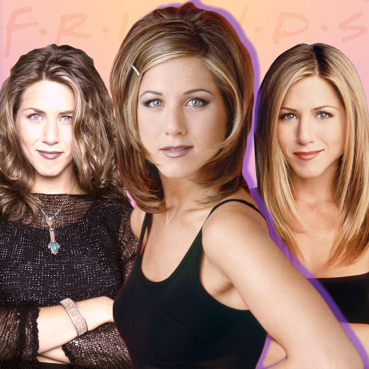 Jennifer Aniston, Rachel Hair Gallery, Friends
