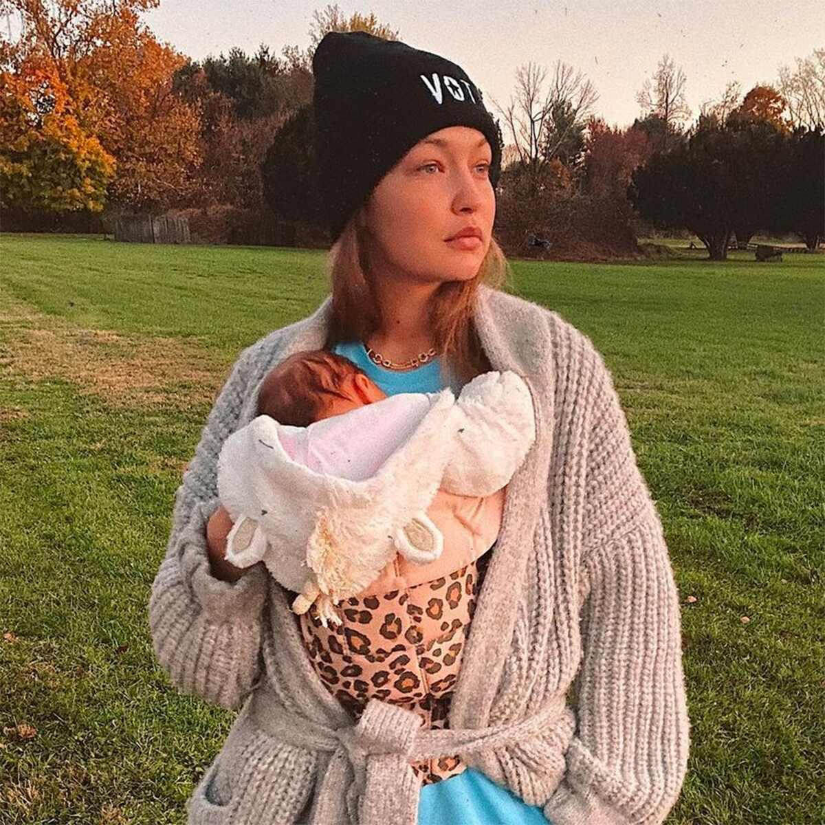 Gigi Hadid, Baby, Daughter, Khai, Instagram