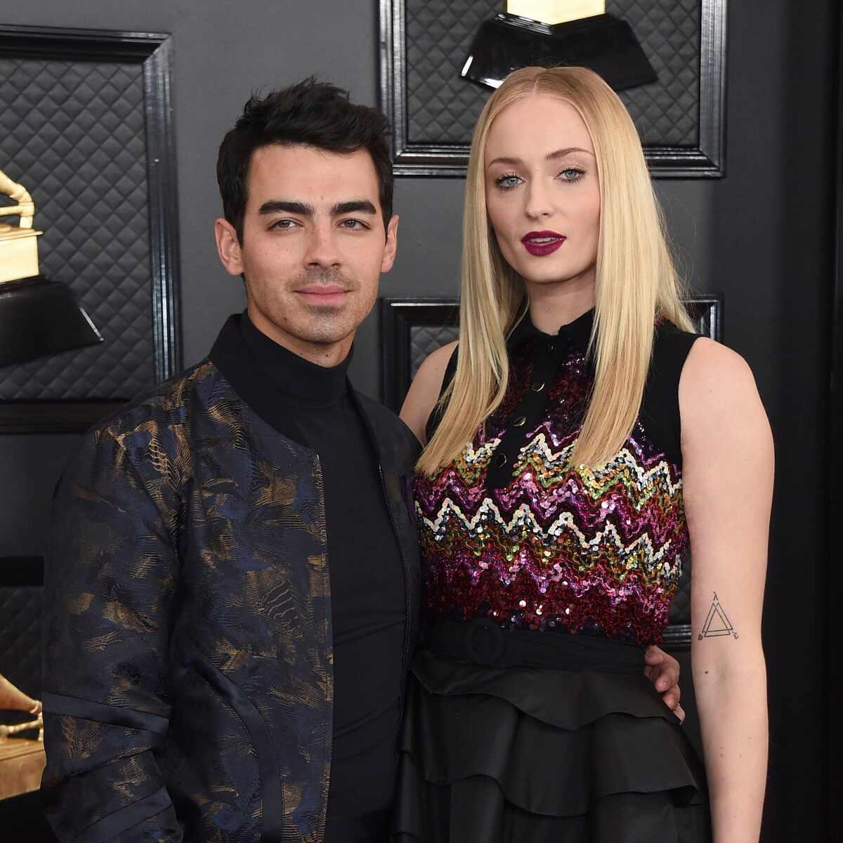 Joe Jonas, Sophie Turner, Grammy Awards 2020