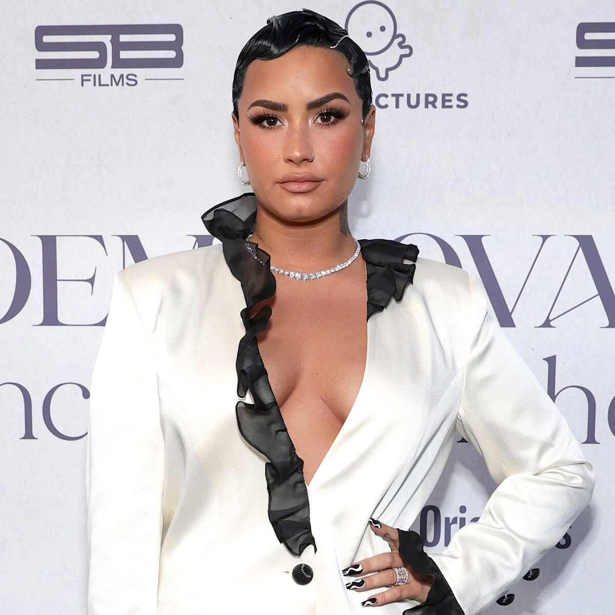 Demi Lovato, Dancing With the Devil premiere event