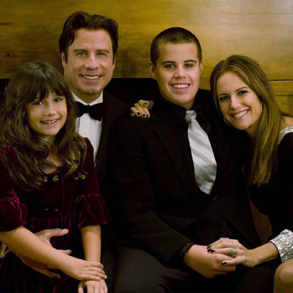 John Travolta, Kelly Preston, Ella Bleu Travolta, Jett Travolta