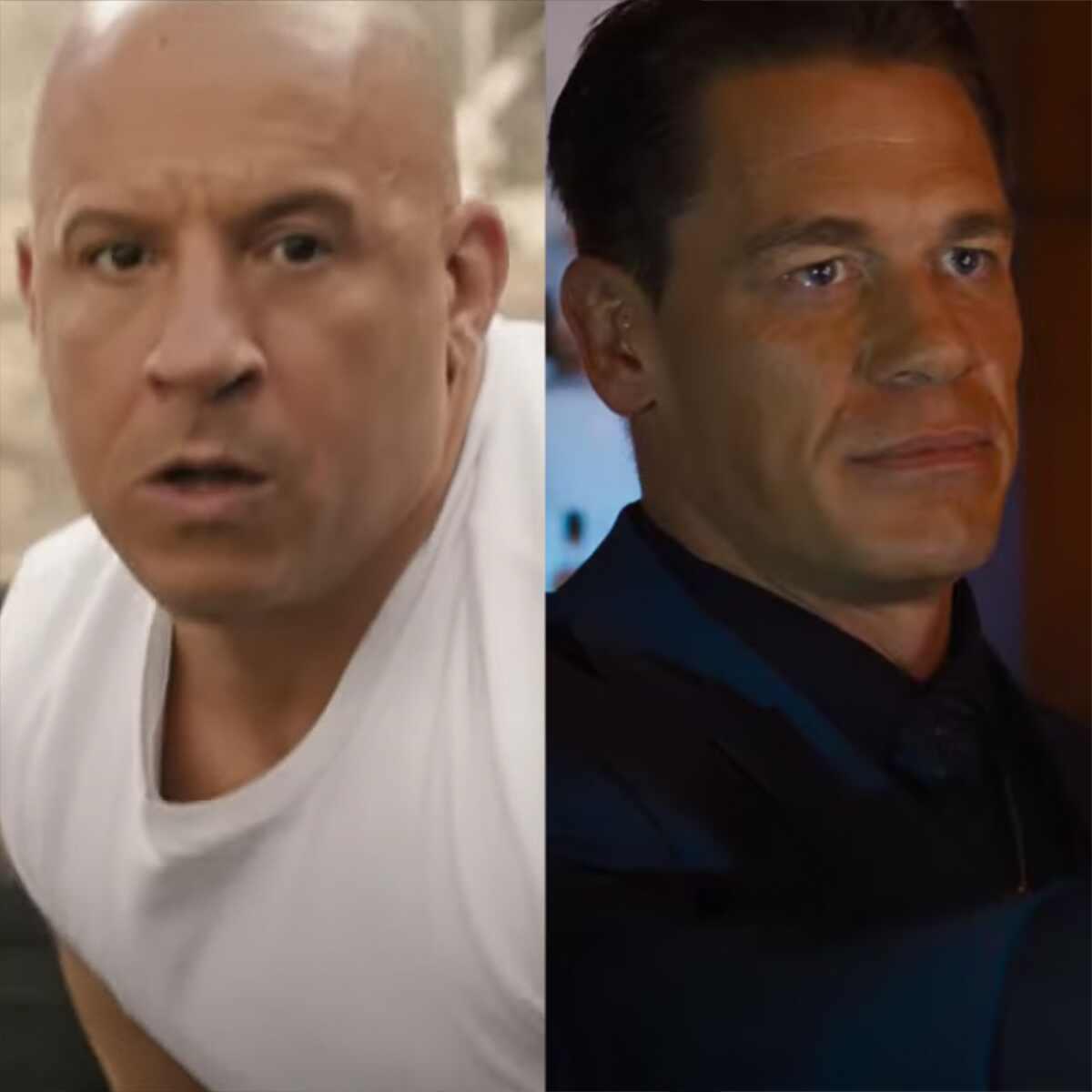 Vin Diesel, John Cena, F9