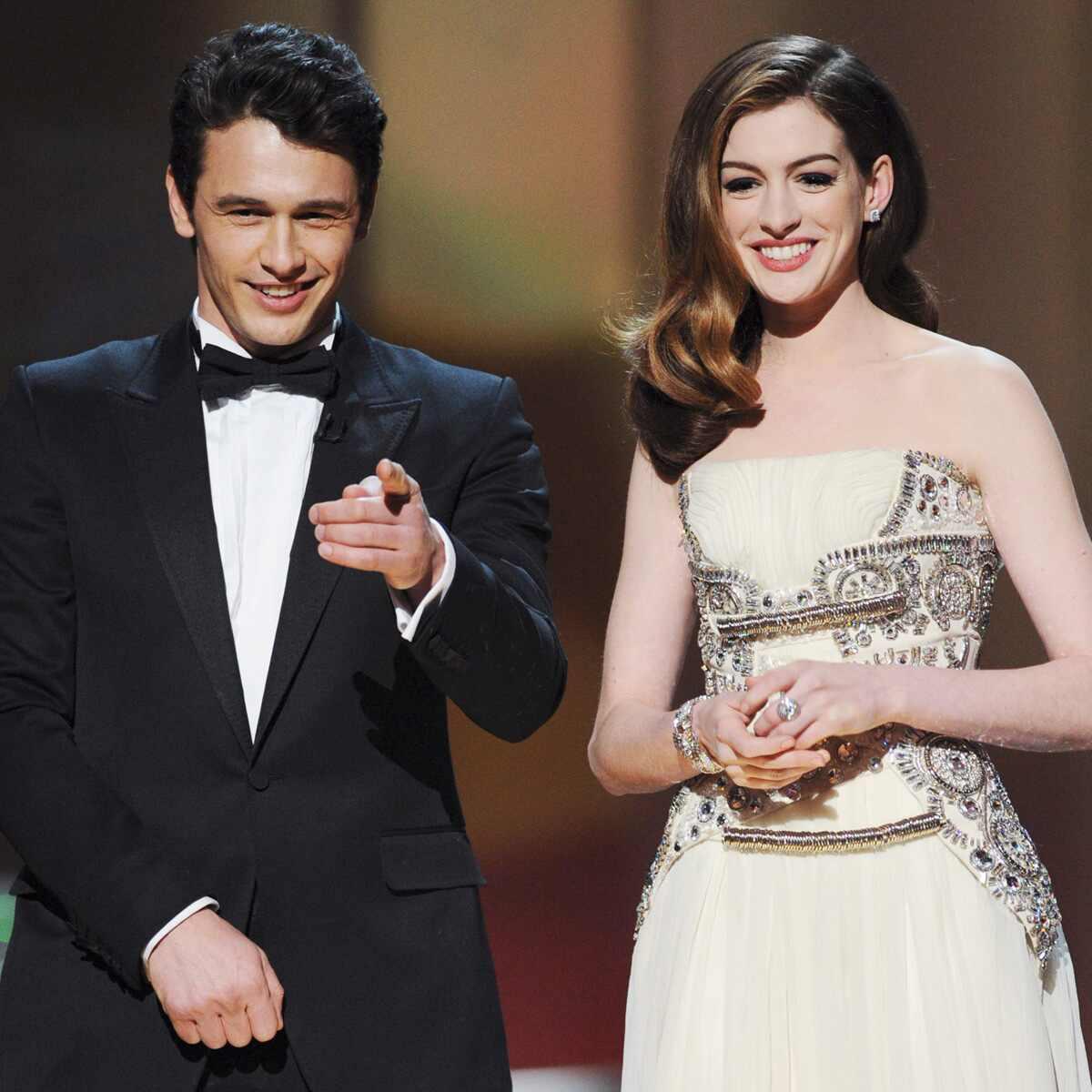 Anne Hathaway, James Franco, 2011 Oscars