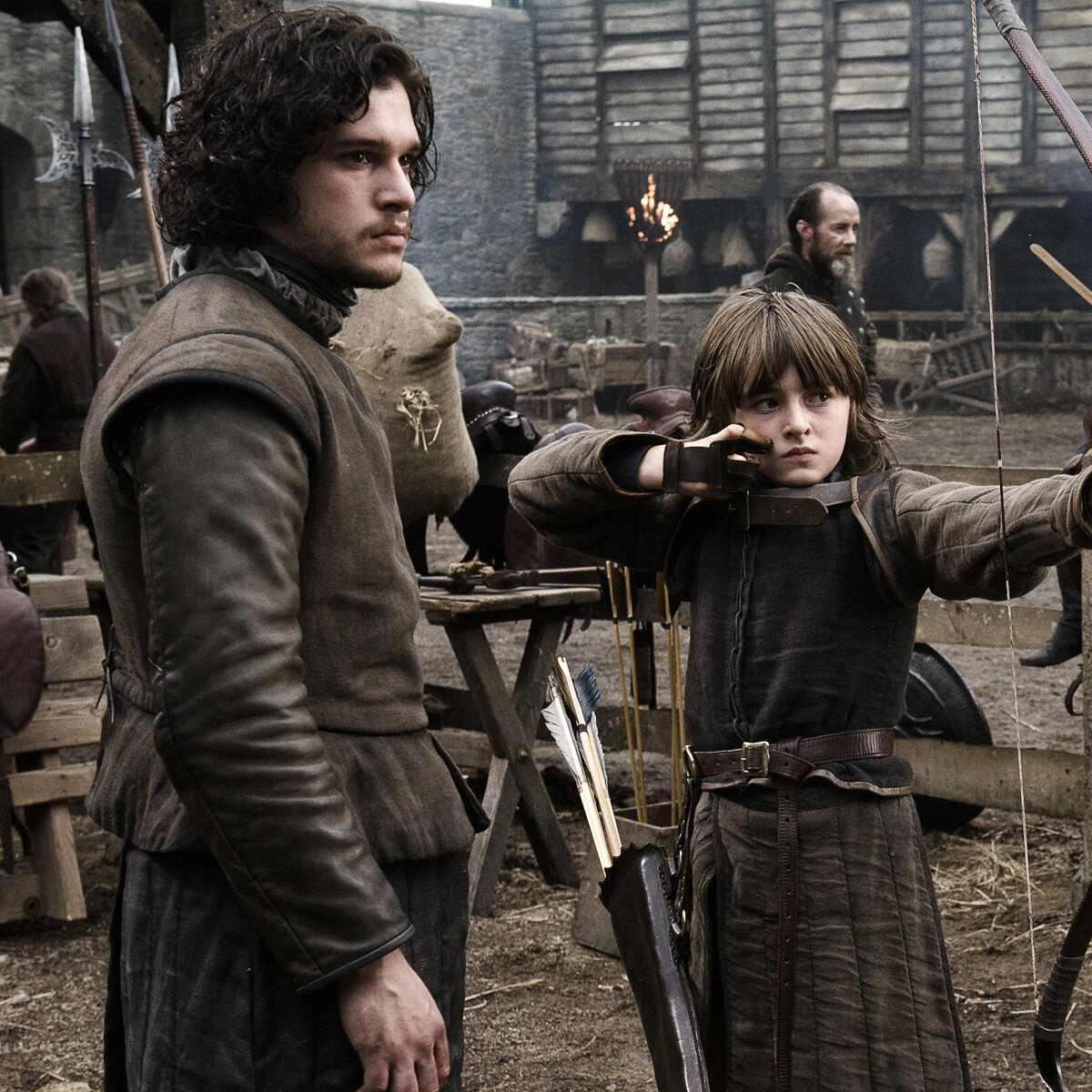 Kit Harrington, Richard Madden, Isaac Hempstead-Wright, Game of Thrones