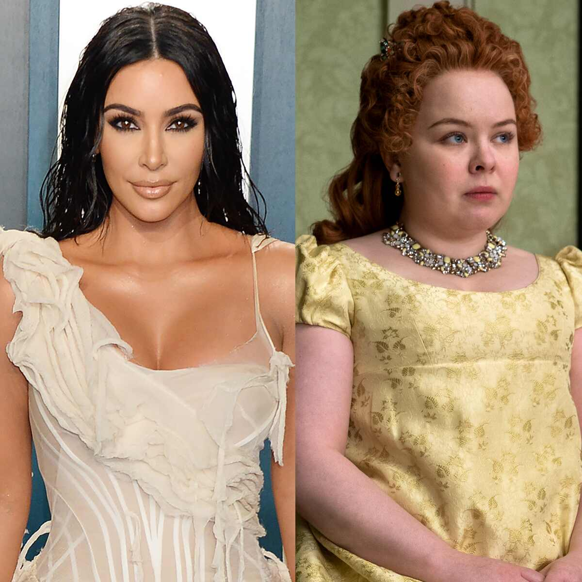 Nicola Coughlan, Bridgerton, Kim Kardashian