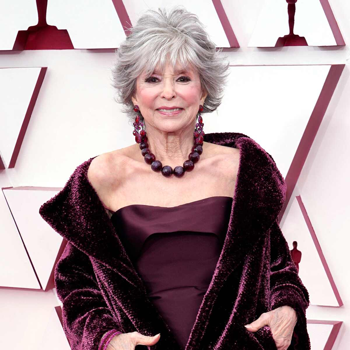 Rita Moreno, 2021 Oscars, 2021 Academy Awards, Red Carpet Fashion