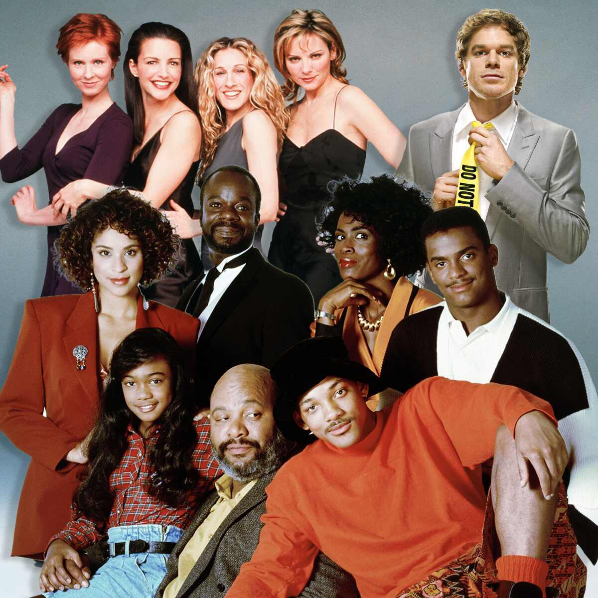 Sex and The City, Dexter, Fresh Prince, Reboot/Revivals
