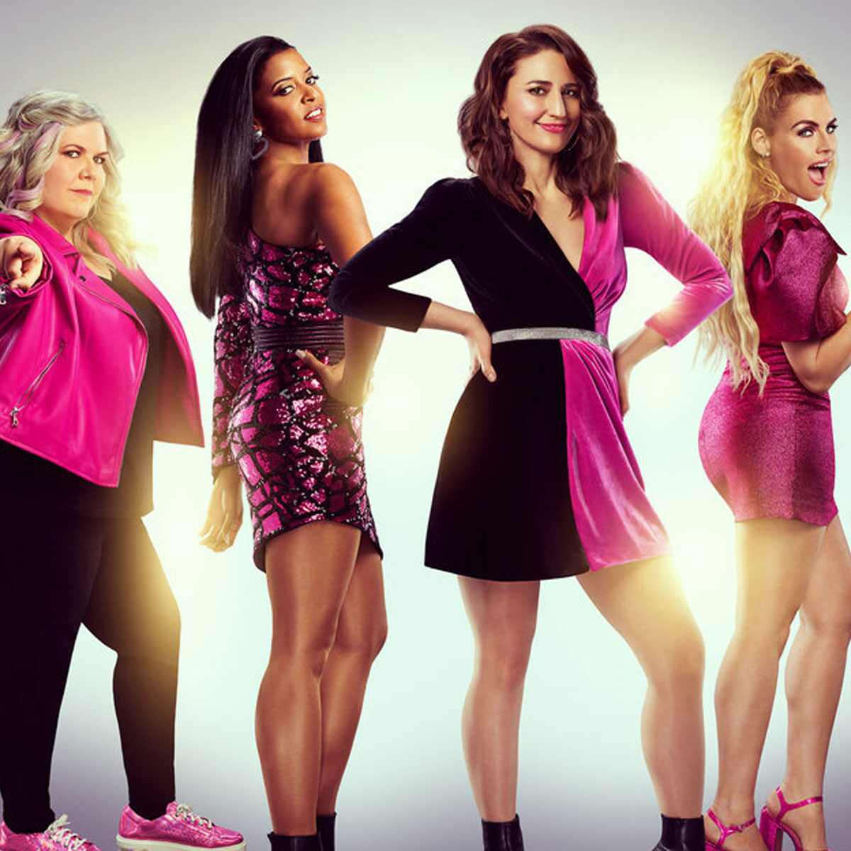 Girls5eva, Busy Philipps, Sara Bareilles, Paula Pell, Renee Elise Goldsberry