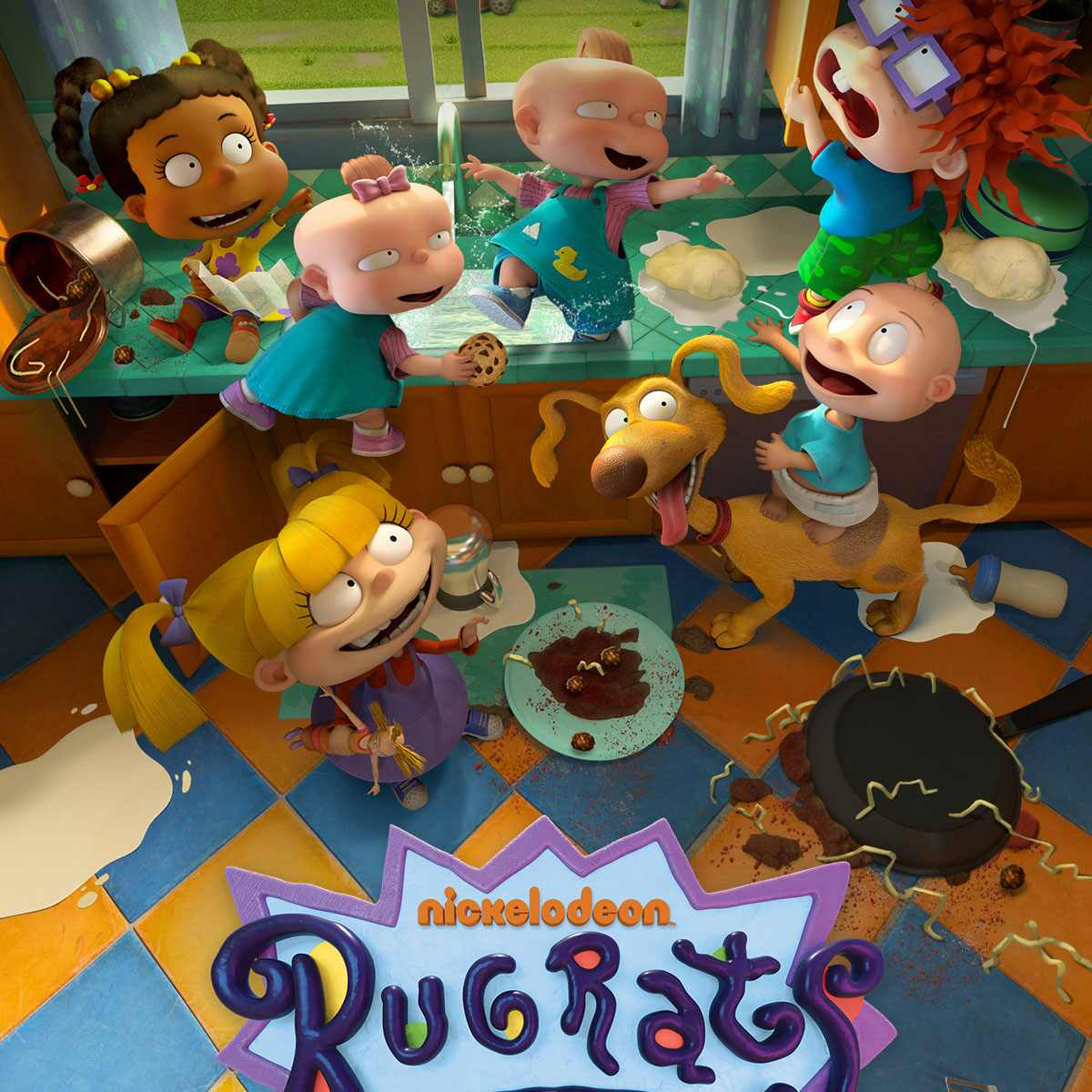 Rugrats, Paramount+, Key Art,