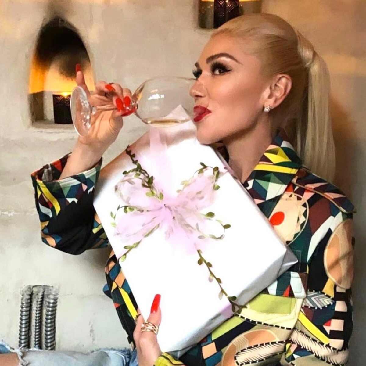 Gwen Stefani, Bridal Shower, Instagram