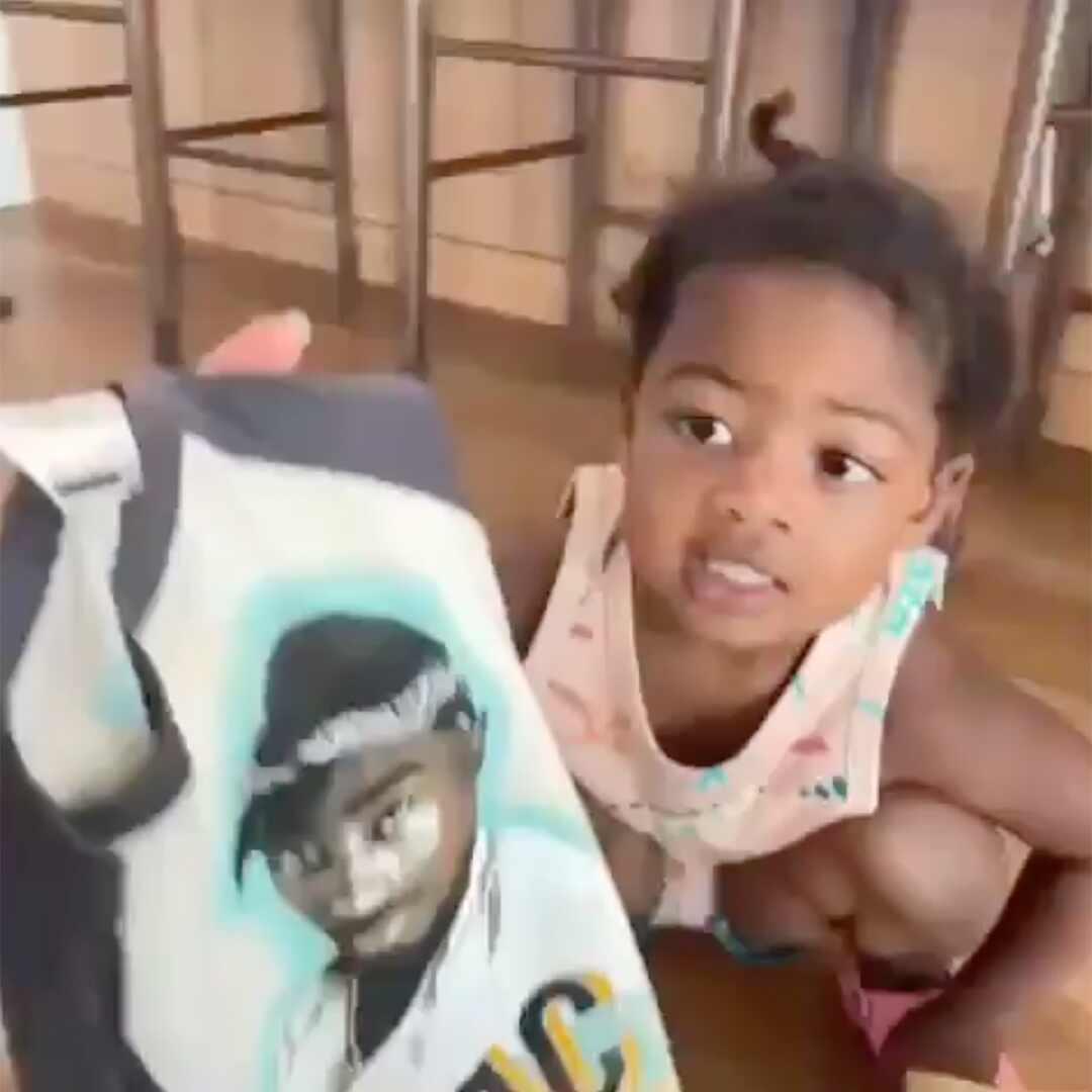 Gabrielle Union, Kaavia James, Tupac Shakur Shirt, Instagram