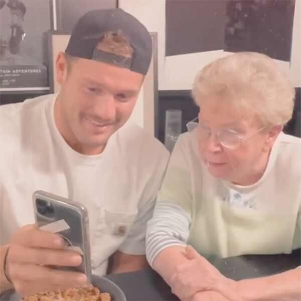 Colton Underwood, Grandmother, Instagram