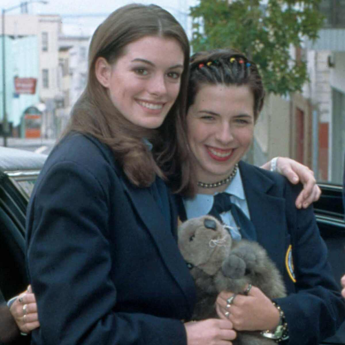 Anne Hathaway, Heather Matarazzo, The Princess Diaries, movie