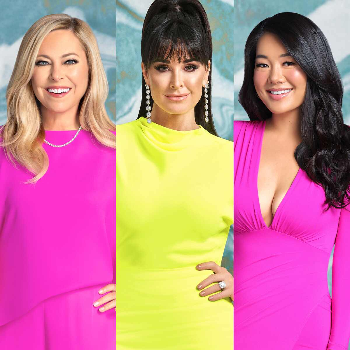 Sutton Stracke, Kyle Richards, Crystal Minkoff, The Real Housewives of Beverly Hills