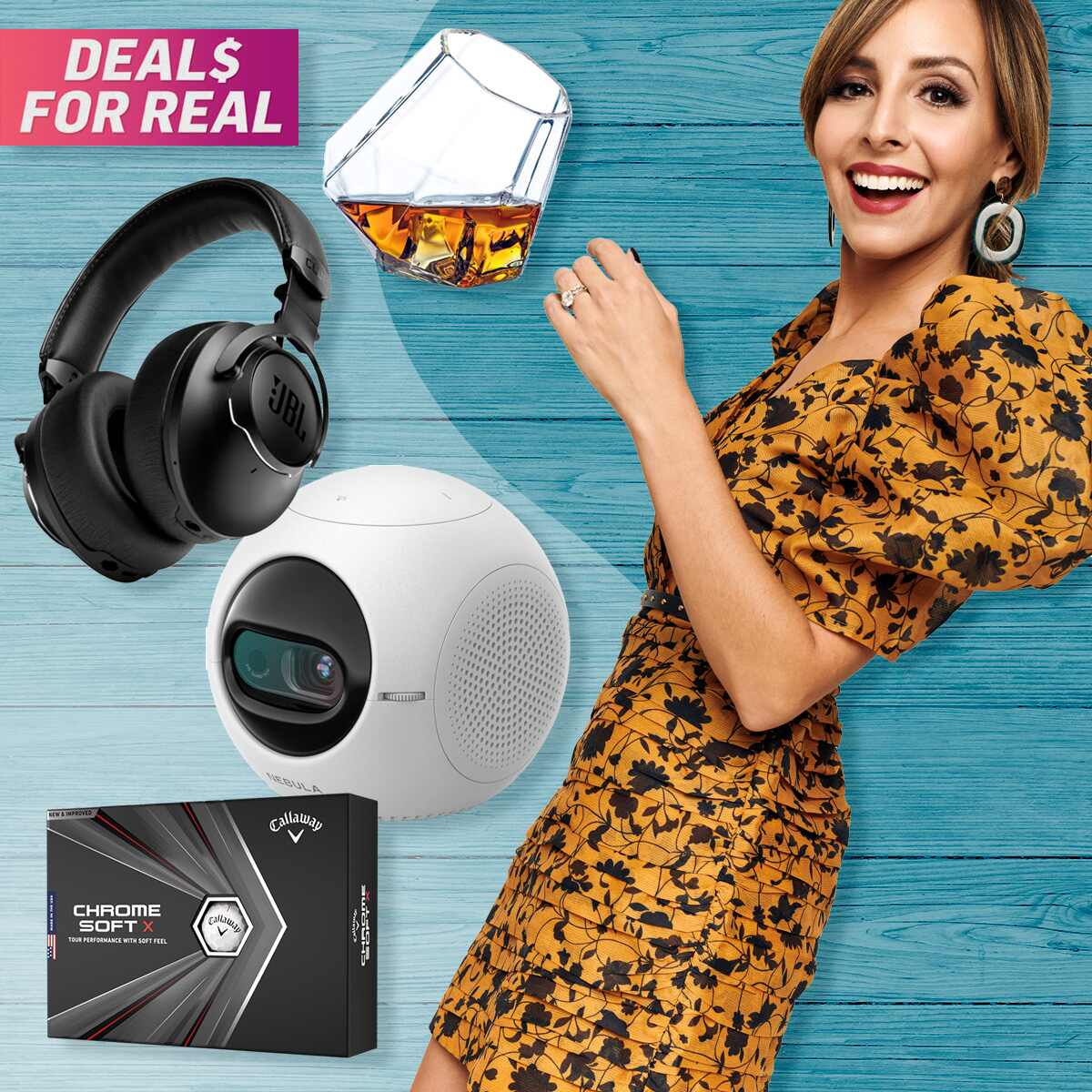 E-comm: Deals for Real, Fathers Day, Lilliana Vazquez