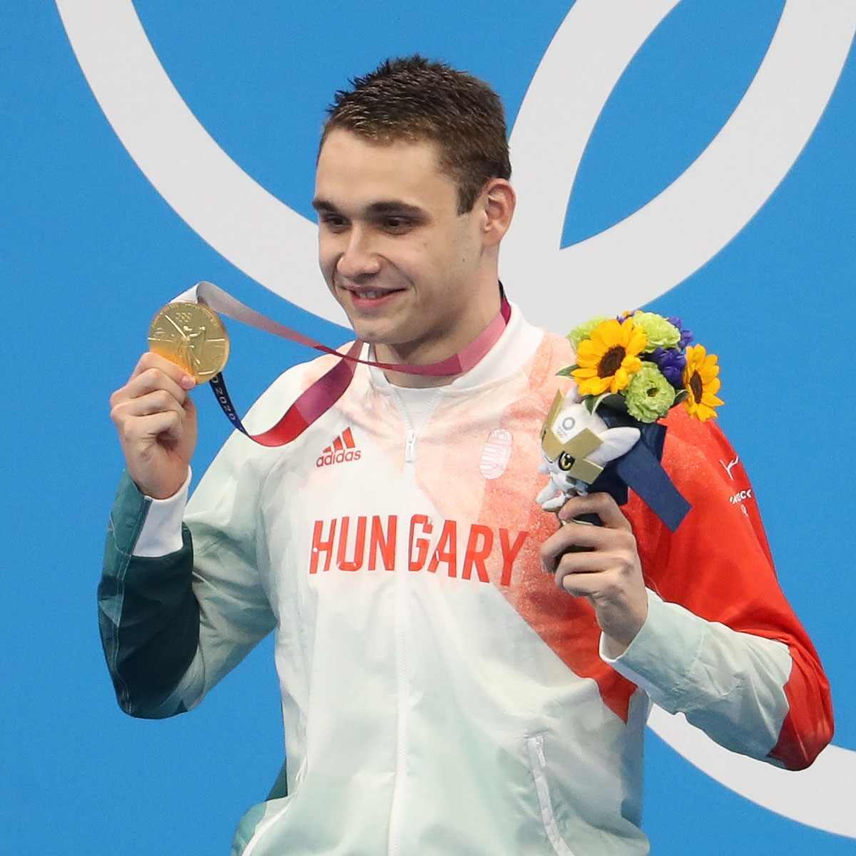Kristof Milak, USA, 2020 Tokyo Olympics, Gold Medal
