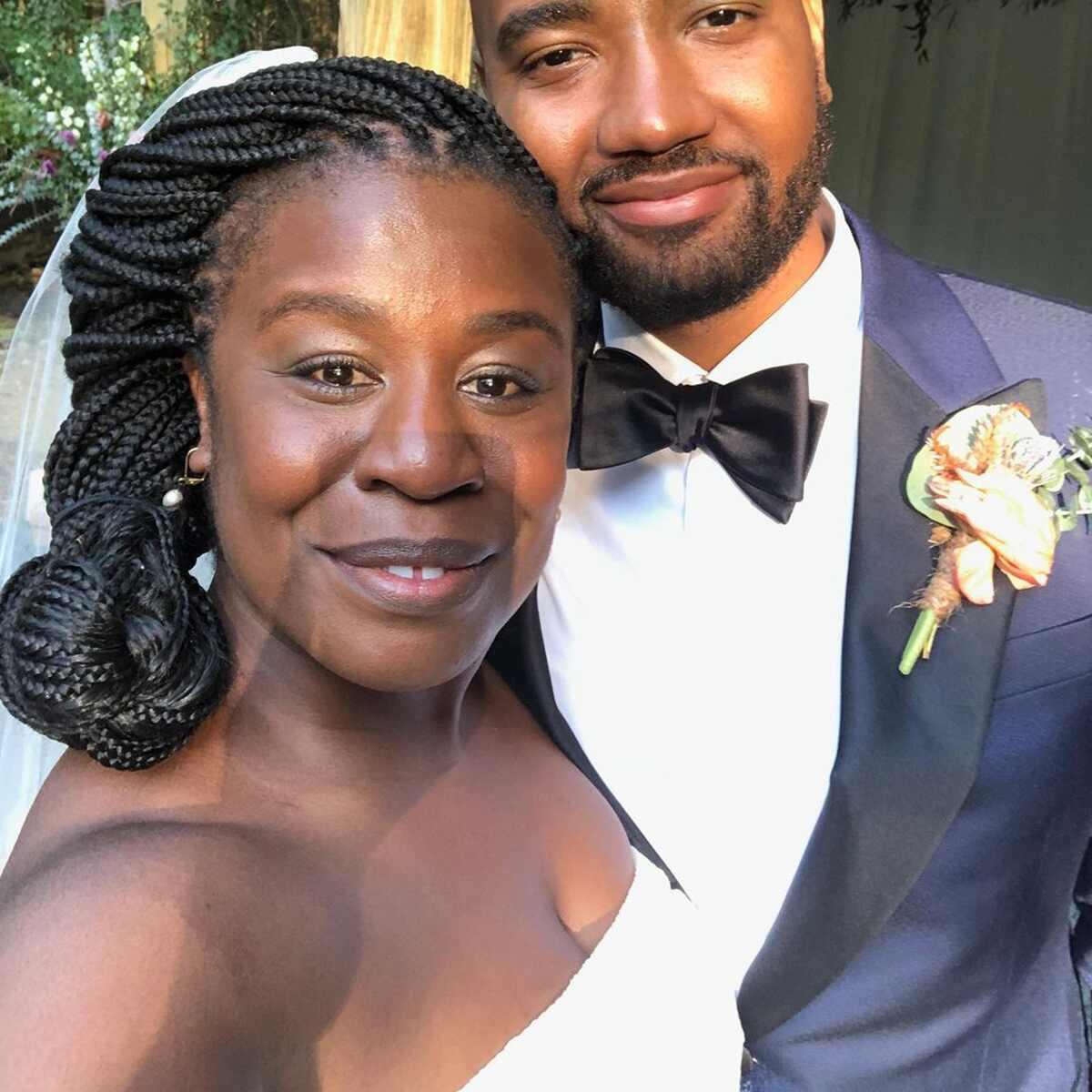 Uzo Aduba, Robert Sweeting, Wedding