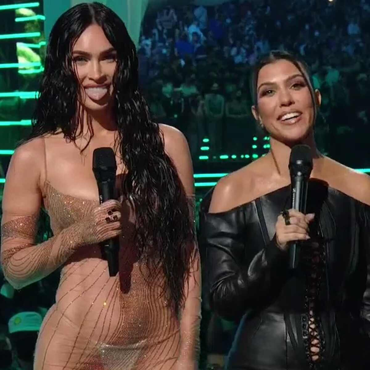 Megan Fox, Kourtney Kardashian, 2021 MTV Video Music Awards, MTV VMA's, Show