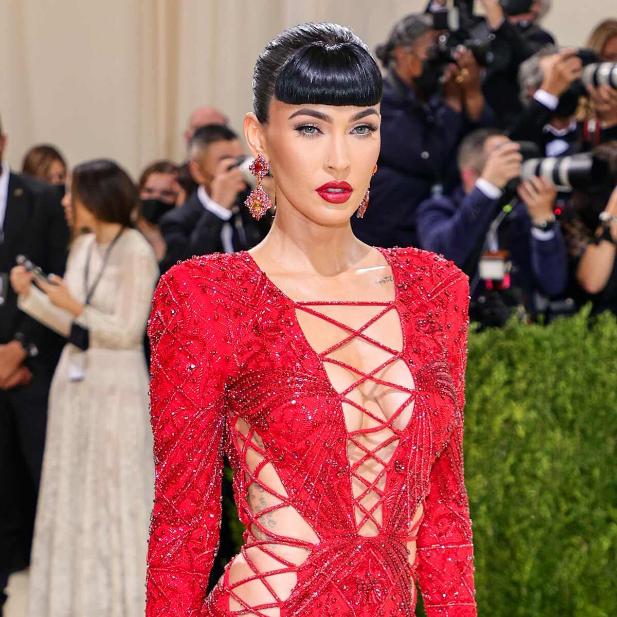 Megan Fox, 2021 Met Gala, Red Carpet Fashion, Arrivals
