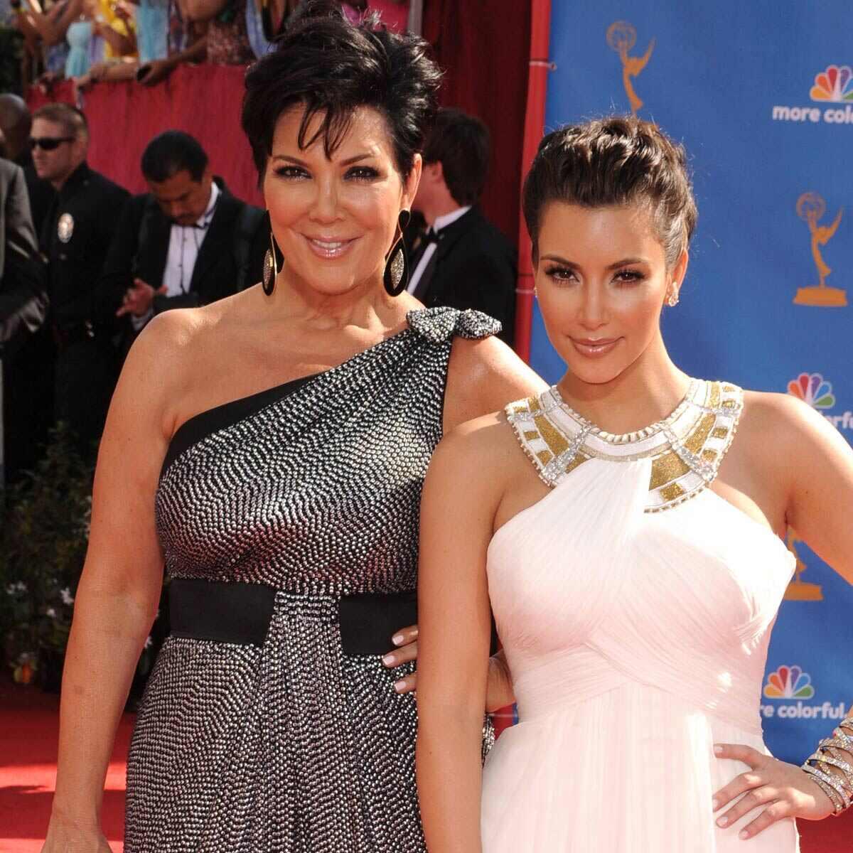 2010 Emmys, Kim Kardashian, Kris Jenner