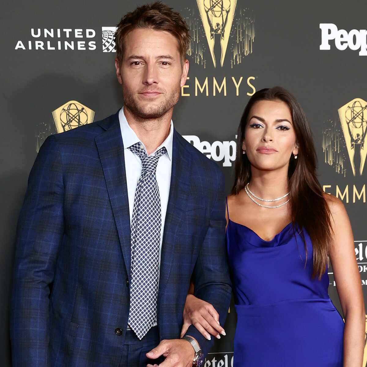 Justin Hartley, Sofia Pernas, Pre-Emmy Party
