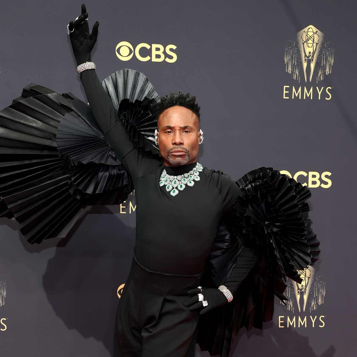 Billy Porter, 2021 Emmys, Emmy Awards, Red Carpet Fashions, Arrivals, Riskiest Looks