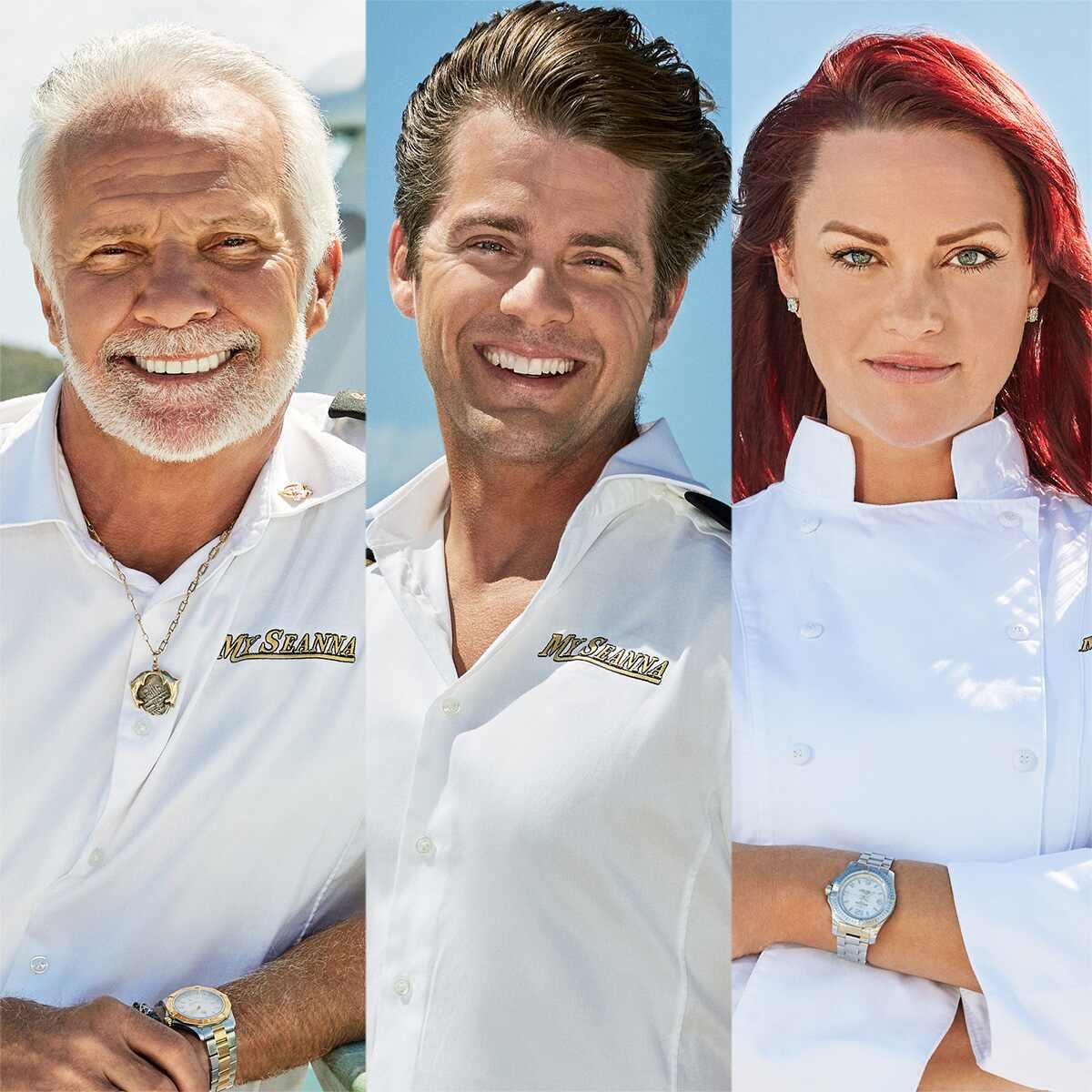 Captain Lee Rosbach, Eddie Lucas, Rachel Hargrove, Below Deck