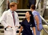 Sandra Oh como Cristina Yang em Grey's Anatomy