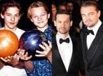 Tobey Maguire & Leonardo DiCaprio,