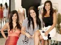 Kim, Khloé & Kourtney Kardashian