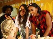 Kelly Rowland & La La Anthony