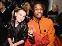 A$AP Rocky & Millie Bobby Brown