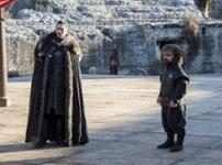 Jon Snow (Kit Harington) & Tyrion Lannister (Peter Dinklage)