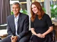 George Clooney & Julianne Moore