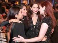 Eva Longoria, Salma Hayek, Ashley Judd & Debra Messing