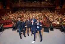 Anthony Russo, Joe Russo, Robert Downey Jr., Tom Holland, Tom Hiddleston & Mark Ruffalo (Shanghai)